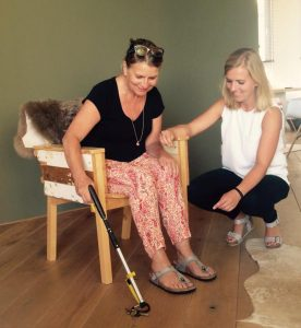 Sophie Hartel, client, ergotherapie, uitleg, hulpmiddel