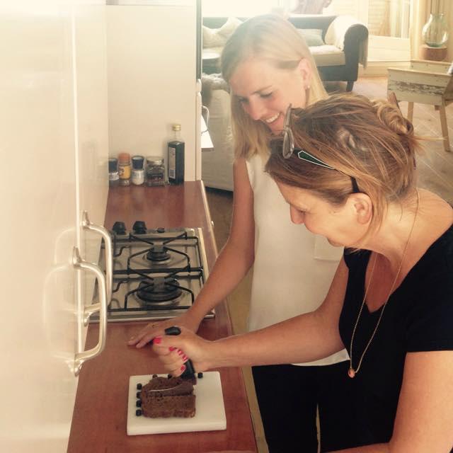 Sophie Hartel, Ergotherapeut, uitleg, brood snijden, client