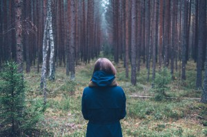 Stockphoto, informatie pagina, meisje, bos, groen, ergotherapie Hartel website